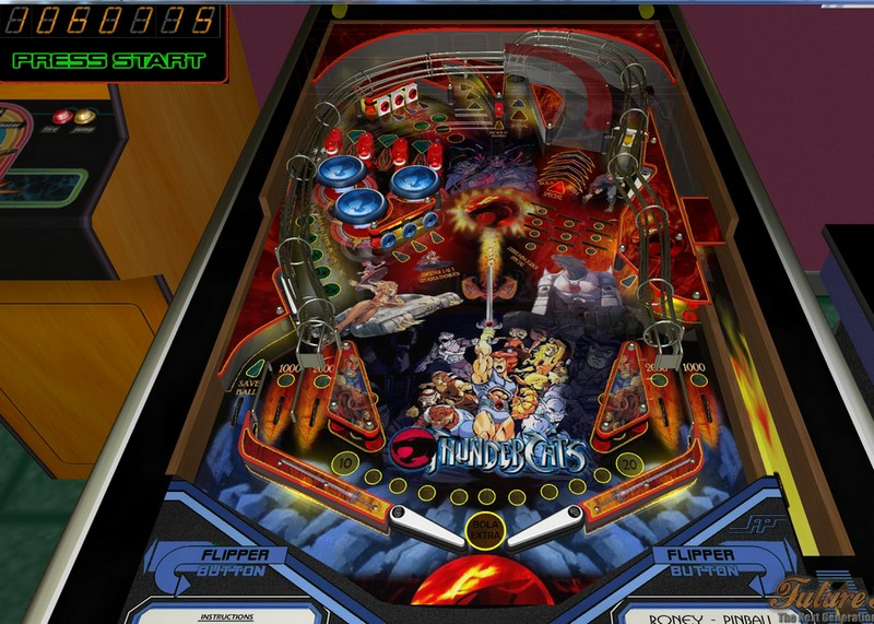 Future pinball editor 3d mesas freeware for Pinball de mesa